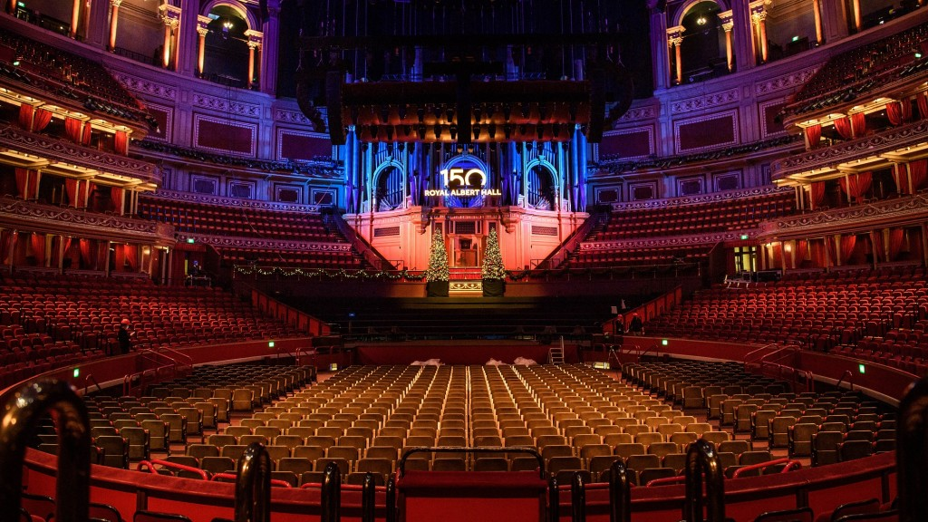 Der große Saal der Royal Albert Hall in London (Foto: picture alliance/dpa/PA Wire | Matt Crossick)