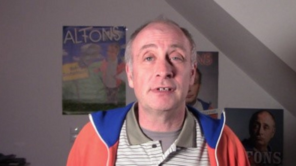 Alfons in seinem Home-Office
